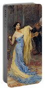 Portrait Of The Dancer Anna Pawlowa Portable Battery Charger