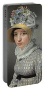 Portrait Of The Model Maddalena Or Anna Maria Uhden Portable Battery Charger