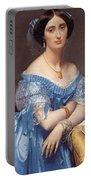 Portrait Of The Princesse De Broglie Portable Battery Charger