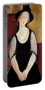 Portrait Of Thora Klinchlowstrom Portable Battery Charger