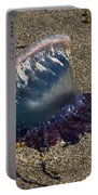 Portuguese Man-o War Beached Portable Battery Charger