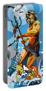 Poseidon - W/hidden Pictures Portable Battery Charger