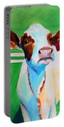 Posing Cow Portable Battery Charger