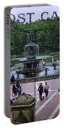 Postcard From Central Park Portable Battery Charger