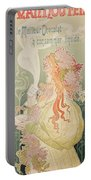 Poster Advertising Caco Van Houten Portable Battery Charger by Privat Livemont