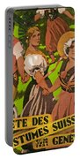 Poster Advertising F?te Des Costumes Portable Battery Charger