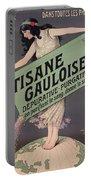 Poster Advertising Tisane Gauloise Portable Battery Charger