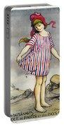 Poster Banque De Paris Portable Battery Charger