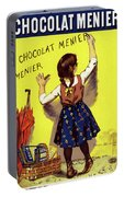Poster Chocolate, 1893 Portable Battery Charger