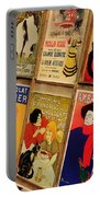 Posters In Paris Portable Battery Charger