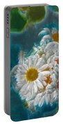 Pot Of Daisies 02 - S11bl01 Portable Battery Charger