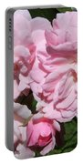 Powder Puff Pink Portable Battery Charger