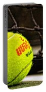 Practice - Tennis Ball By William Patrick And Sharon Cummings Portable Battery Charger