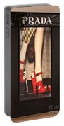 Prada Red Shoes Portable Battery Charger