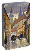 Prague Old Street Stupartska Portable Battery Charger