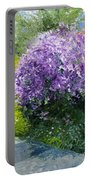 Prague Spring Loreta Lilacs Portable Battery Charger