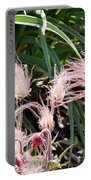 Prairie Smoke Wildflower Portable Battery Charger