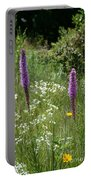 Prairie Blossoms Portable Battery Charger