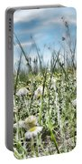 Prairie Flowers And Grasses Portable Battery Charger