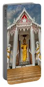 Pranburi Temple Portable Battery Charger by Adrian Evans