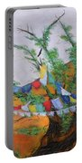 Prayer Flags Portable Battery Charger