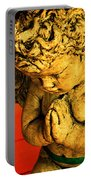 Praying Angel Portable Battery Charger by Susanne Van Hulst