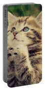 Praying Cat Portable Battery Charger