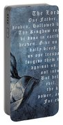 Praying Hands Lords Prayer Portable Battery Charger by Albrecht Durer