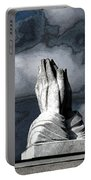Praying Hands Portable Battery Charger