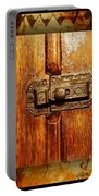 Pre-civil War Bookcase-glass Doors Latch Portable Battery Charger