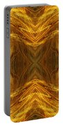 Precious Metal 3 Ocean Waves Dark Gold Portable Battery Charger