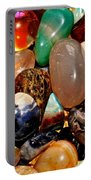 Precious Stones Portable Battery Charger by Frozen in Time Fine Art Photography