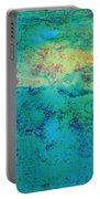Prescott Blue Abstract Portable Battery Charger