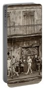 Preservation Hall Sepia Portable Battery Charger
