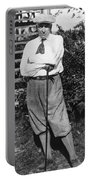 President Harding Playing Golf Portable Battery Charger