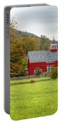 Prettiest Barn In Vermont Portable Battery Charger