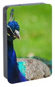 Pretty As A Peacock Portable Battery Charger