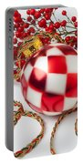 Pretty Christmas Ornament Portable Battery Charger