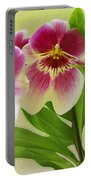 Pretty Faces - Orchid Portable Battery Charger