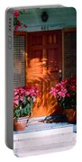 Pretty House Door In Key West Portable Battery Charger