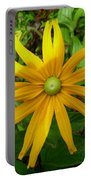Pretty In Yellow Portable Battery Charger
