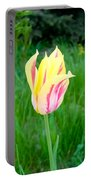 Pretty Pastel Tulip Portable Battery Charger