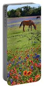 Pretty Pastures Portable Battery Charger