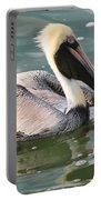 Pretty Pelican In Pond Portable Battery Charger