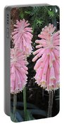Pretty Pink Forest Lily Portable Battery Charger