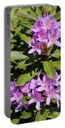 Pretty Purple Rhododendron Portable Battery Charger