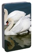 Pretty Swan Pair Portable Battery Charger