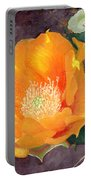 Prickly Pear Blossom Portable Battery Charger