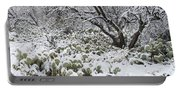 Prickly Pear Cactus And Mesquite Tree Portable Battery Charger