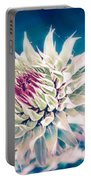 Prickly Thistle Bloom Portable Battery Charger